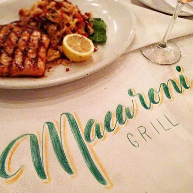 Follow Ramono's Macaroni Grill on Instagram @macaronigrill