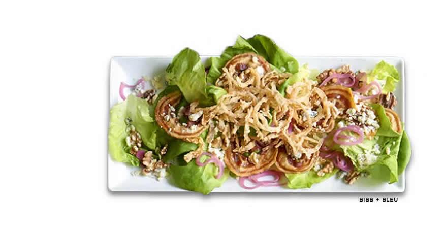 Romanos Macaroni Bib Bleu Salad