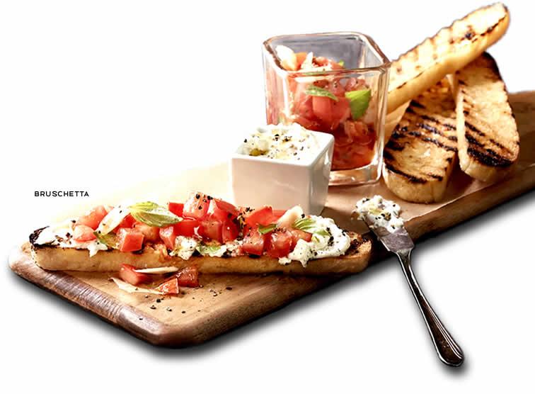 Romanos Macaroni Grill Bruschetta Lunch Sm