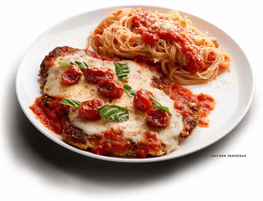 Macaroni grill chicken parmesan for Sharks fish chicken little rock ar