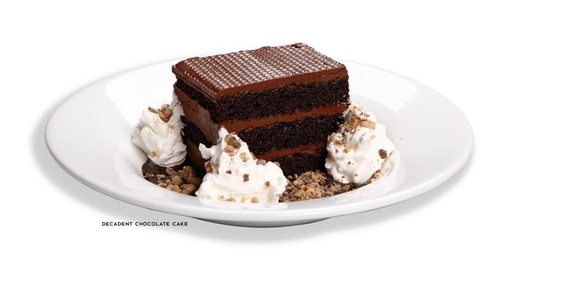 Chocolate Cake Macaroni Grill