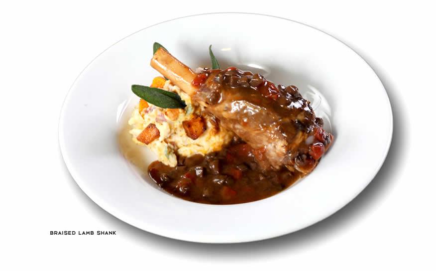 Romanos Macaroni Grill Lamb Shank