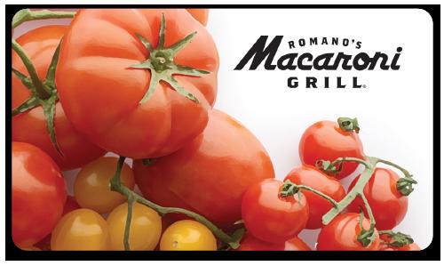 Romano's Macaroni Grill Gift Cards | Italian Restaurant